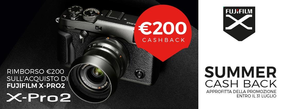 Fujifilm summer cashback