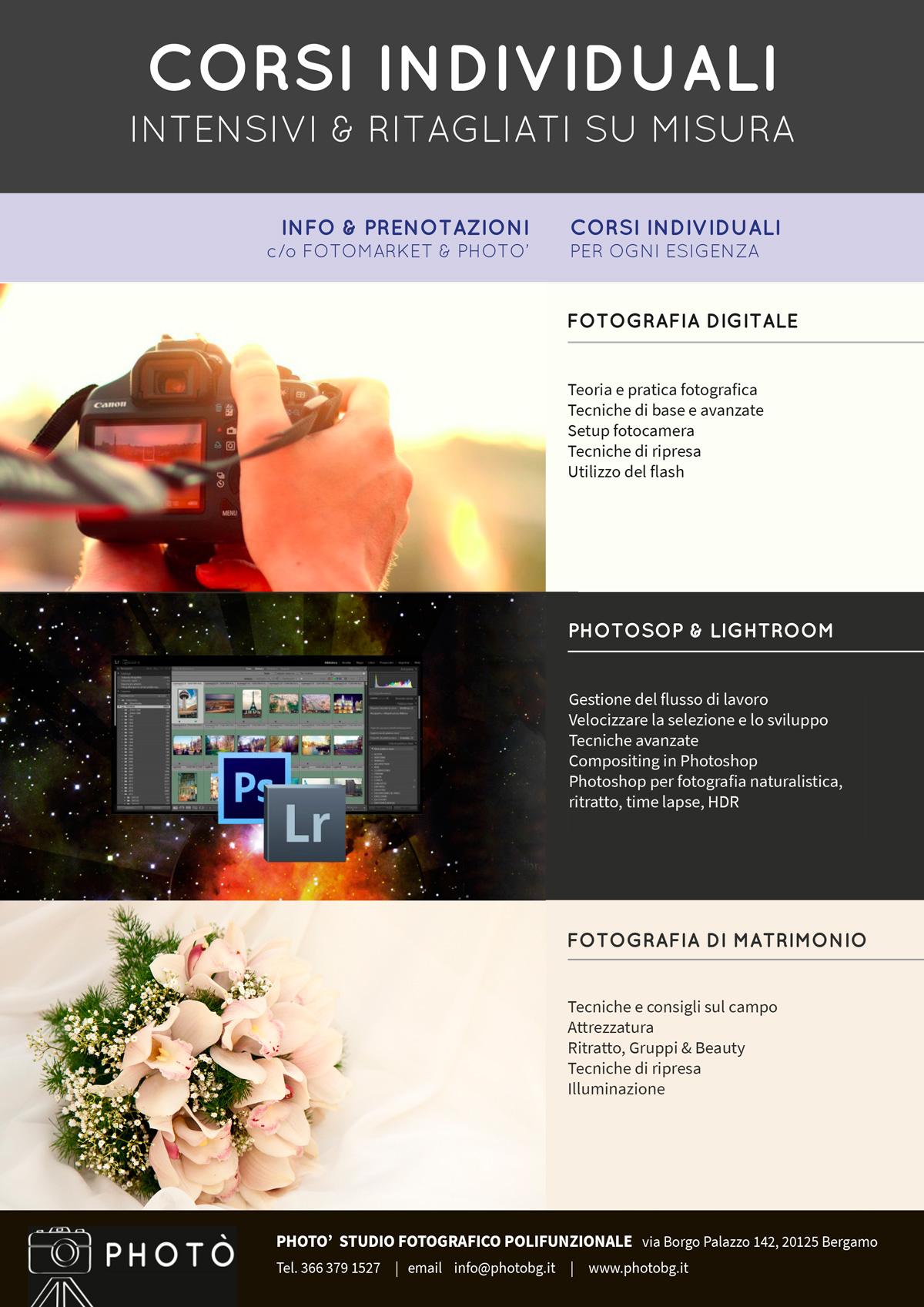Offerte Lavoro Fotografo Bergamo corsi di fotografia photò - media foto market mediadigital